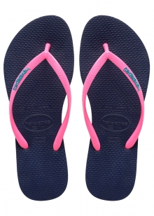 SANDÁLIA HAVAIANAS SLIM LOGO POP UP