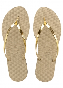 SAND�LIA HAVAIANAS YOU METALLIC
