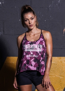BLUSA REGATA NADADOR LABELLAMAFIA  CROSS TRAINING STORM PINK