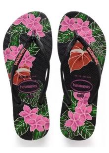 40%desconto SANDÁLIA HAVAIANAS SLIM FLORAL Havaianas - Sandália Slim Floral R$ 39,90 R$ 24,00