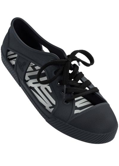 TÊNIS MELISSA VWA + MELISSA BRIGHTON SNEAKER COM DETALHES ABERTOS - VWA + Melissa Brighton Sneaker - Cor: Azul - Tamanho: 40