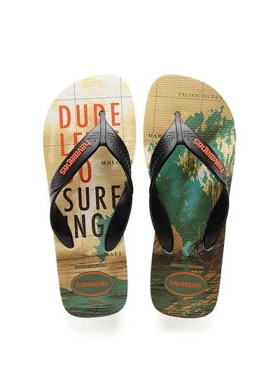 SANDÁLIA HAVAIANAS SURF  - Sandália Surf GD - Cor: Bege - Tamanho: 38