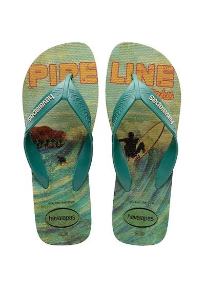 SANDÁLIA HAVAIANAS SURF VERÃO 2020 - Surf Verão 2020 - Cor: Azul - Tamanho: 40
